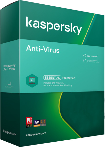 KASPERSKY ANTI VIRUS 2020 3 PC DEVICE  - Download