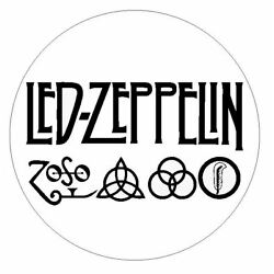 Led Zeppelin Sticker Decal R4850 Musical Group