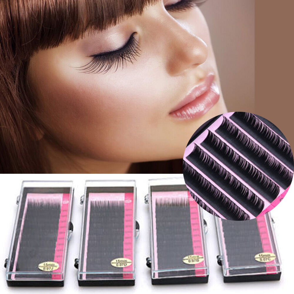 071a19c2aa6 Mink Blink Lashes Tray Lash B C D J Curl For Individual Eyelash Extensions