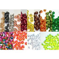 Kyпить 100 Tungsten Fly Tying Beads - Pick Size & Color на еВаy.соm