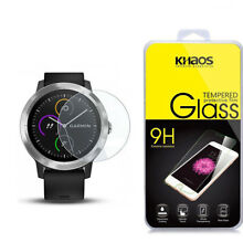 Khaos For Garmin Vivoactive 3 Tempered Glass Screen Protector
