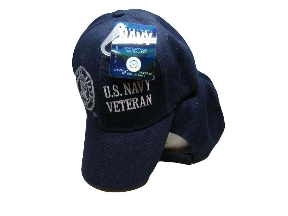 f4c83a8d ... greece details about u.s. navy veteran usn vet shadow navy blue  embroidered hat ball cap licensed