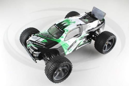 E18XTL  Himoto 1/18 4WD Truggy Centro Brushless, 2,4GHz -RTR- auto