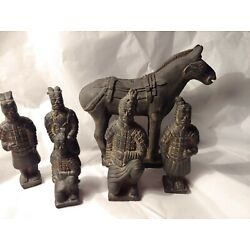 Kyпить 5 Chinese Emperors and 1 Horse Statues ...must ???? на еВаy.соm