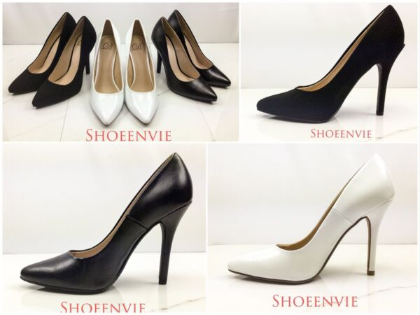 New Women's Delicious Date Pointy Toe Slip On High heel Classic pump