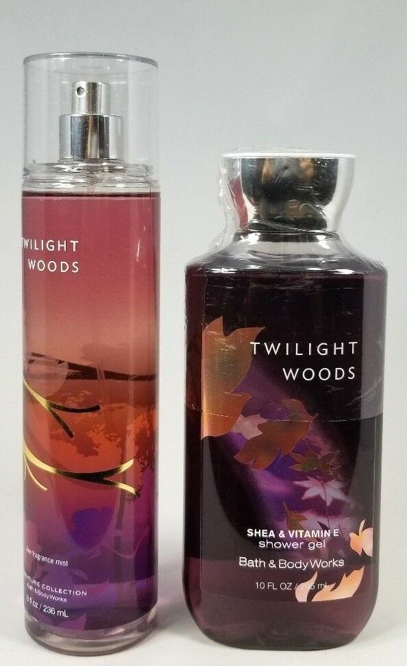 Bath Body Works Twilight Woods Mist Spray Body Wash Shower