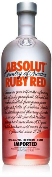 Vodka Absolut Ruby Red Collezione 1 Litro 100 cl 40% vol.