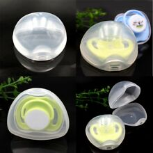 Portable Baby Nipple Box Boy Girl Infant Pacifier Cradle Box Holder Soother Case