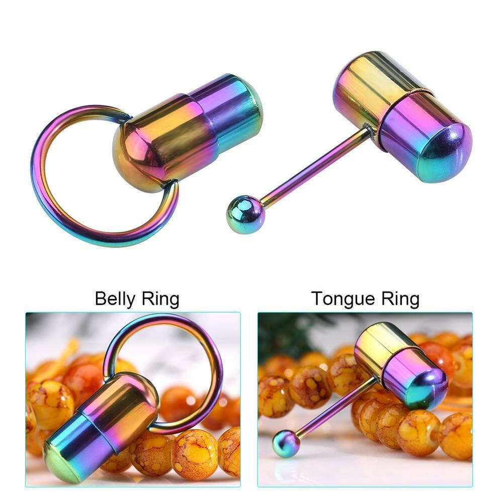 Colorful Cool Vibrating Tongue Belly Ring Bar Pierce Stud Body Piercing Jewelry Ebay