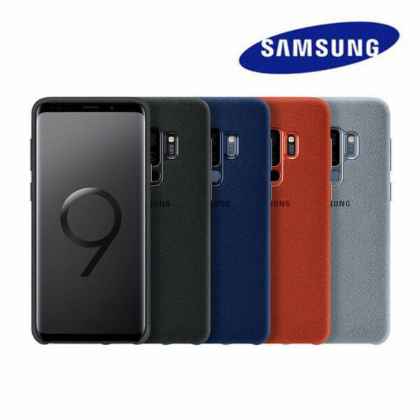 Genuine Official ALCANTARA Case Cover for Samsung Galaxy S9/S9 Plus Boxed