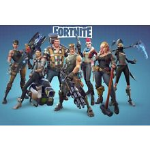 Fortnite Poster Battle Royale Game Wall Art Large Print (24x36)