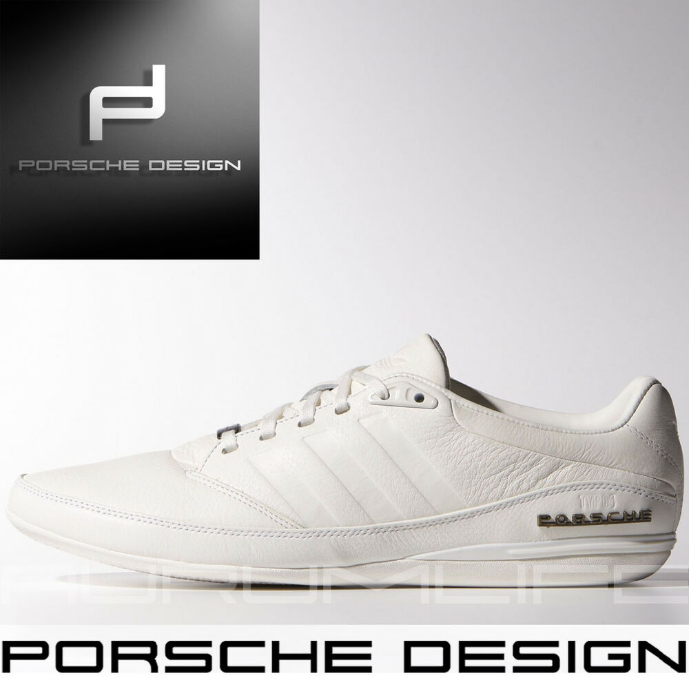 info for 0b093 af683 Details about Adidas Porsche Design Drive TYP 64 2.0 White Shoes Bounce  Mens Leather M20587