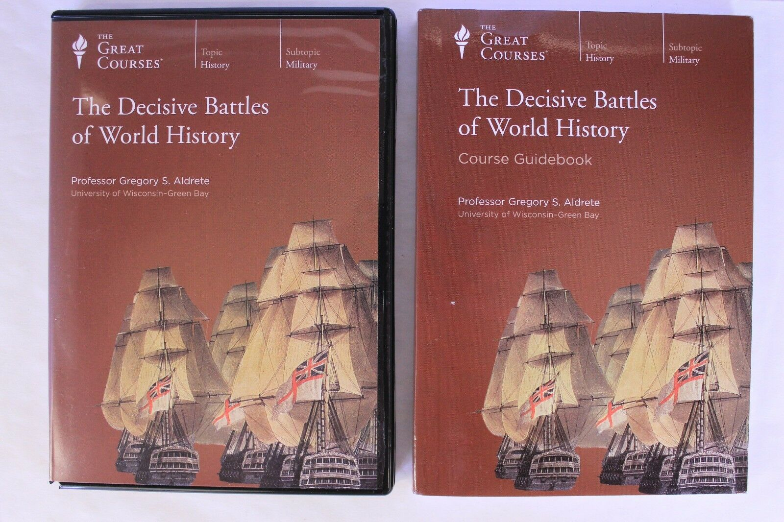 ISBN 9781629970578 product image for The Decisive Battles Of World History Great Courses Book & 6 Dvds Sealed. | upcitemdb.com