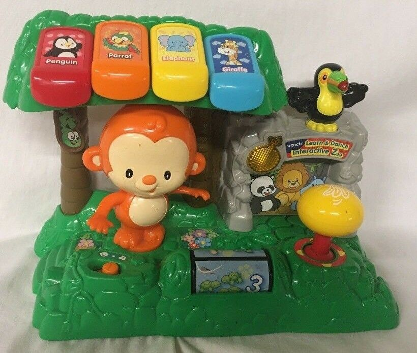 Vtech Learn and Dance Interactive Zoo Monkey Toy for ...
