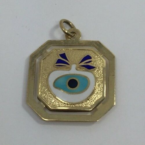 evil-eye-blue-charm-square-pendant-14k-yellow-gold-