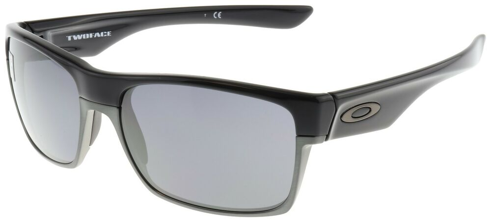 5e38eb4ebb Details about Oakley TwoFace Sunglasses OO9189-02 Polished Black