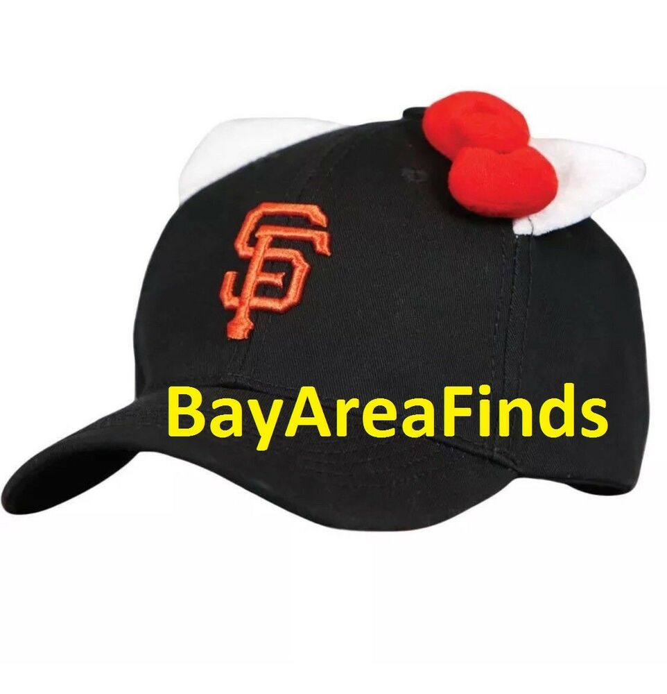 9028865df1f Details about San Francisco Giants Hello Kitty Hat SGA 7 29 2018 not  bobblehead lunch box cap