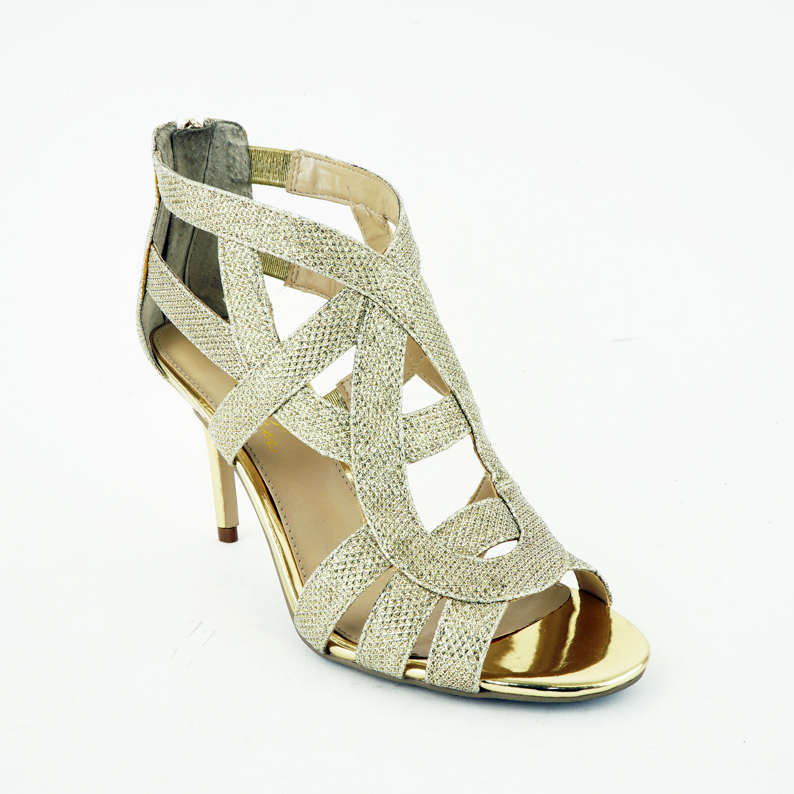 9bf457a3a6 ... UPC 888474009800 product image for Marc Fisher Nala3 Women Us 7 Gold  Sandals Pre Owned Blemish