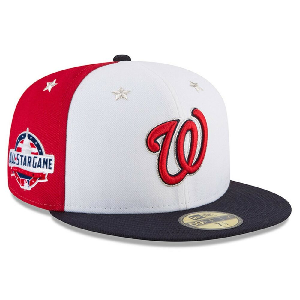 Details about Washington Nationals New Era 2018 MLB All-Star Game On-Field  59FIFTY Fitted Hat 9f188c34fc4