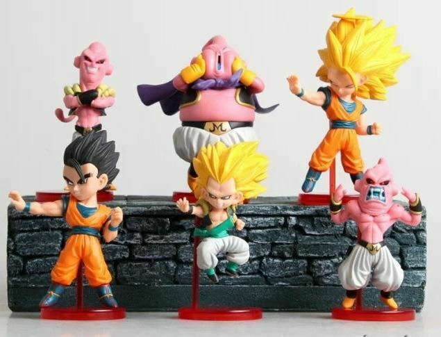 Details About 6 X Dragonball Z Cake Toppers Kids Birthday Party Toys Cupcake Decoration