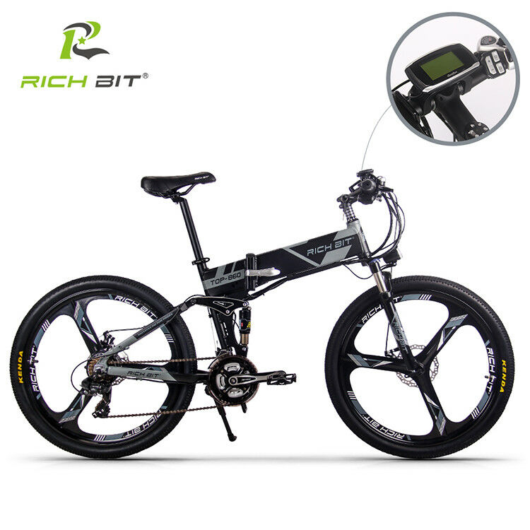 6c3f543c040 Details about 250W Folding Electric bike Bicycle 26