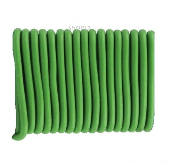 5M GREEN SOFT FLEXIBLE BENDY GARDEN PLANT SUPPORT WIRE TWINE CABLE ...
