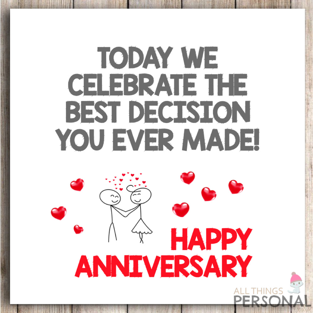 Funny Wedding Anniversary