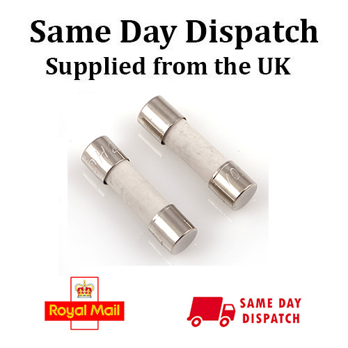 20mm x 5mm T15AH250V T 15AH 250V 15 Amp CERAMIC FUSE SLOW BLOW Time-Delay