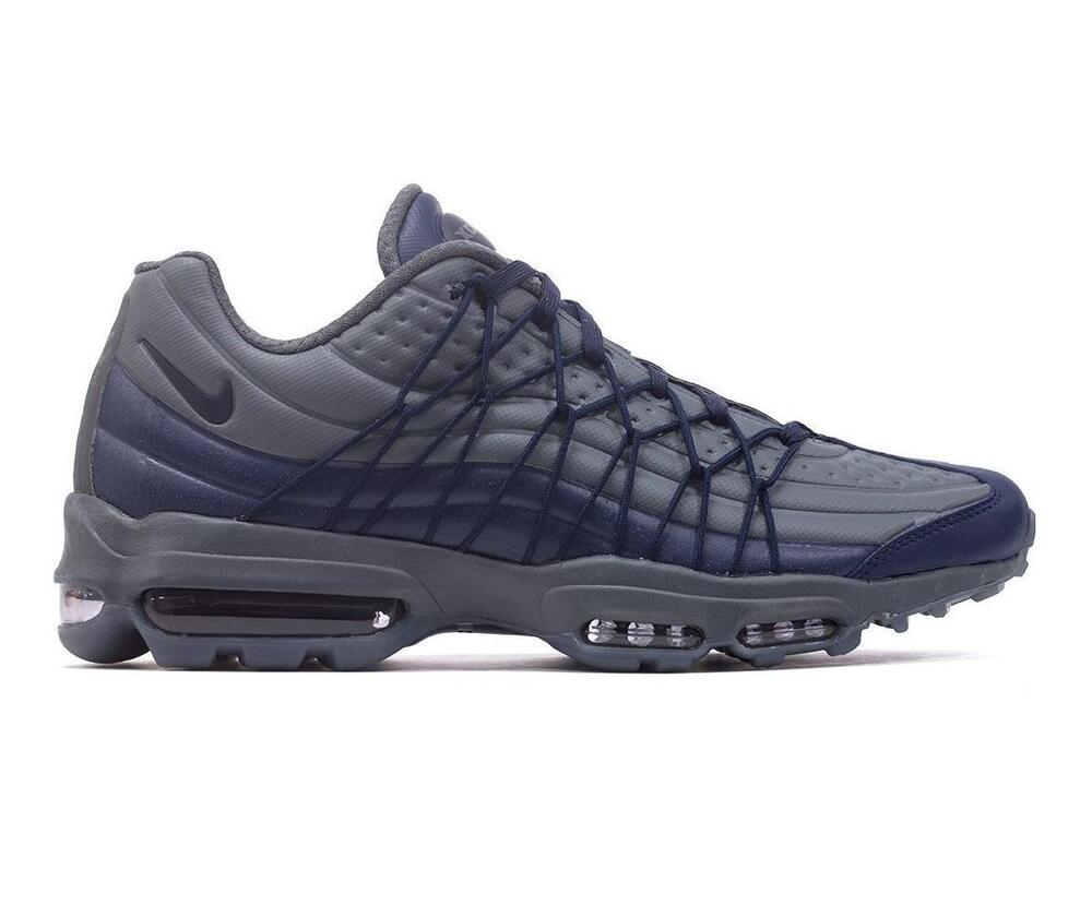 f91e7f2384e Details about Mens NIKE AIR MAX 95 ULTRA SE Obsidian Trainers AO9082 403