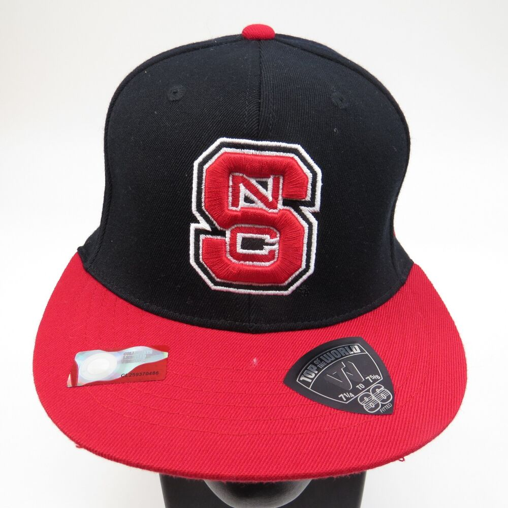 competitive price 5637e 9b1d8 ... spain details about north carolina state wolfpack ncaa size large hat  cap top of the world