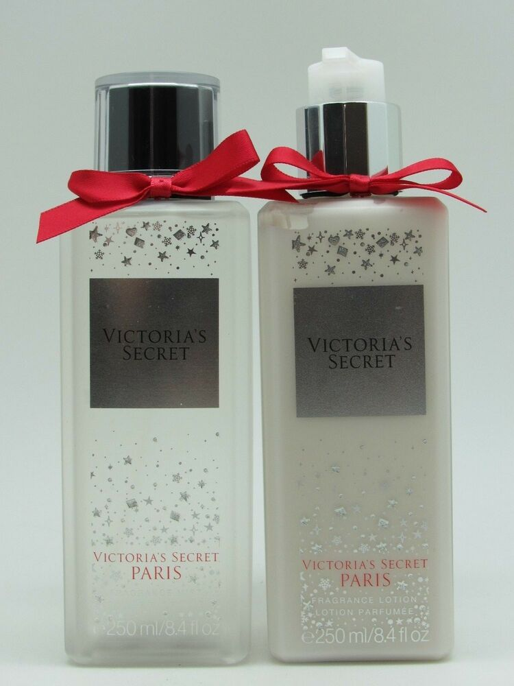 5b20cb05eab Victoria s Secret Paris Fragrance Lotion + Mist 8.4 oz   250 ml Brand New