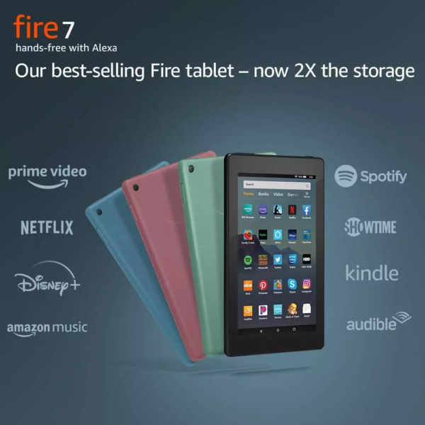 NEW Amazon Fire 7 Tablet With Alexa 7