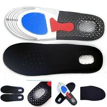 1 Pair Mens Gel Orthotic Sport Running Insoles Insert Pad Arch Support  P