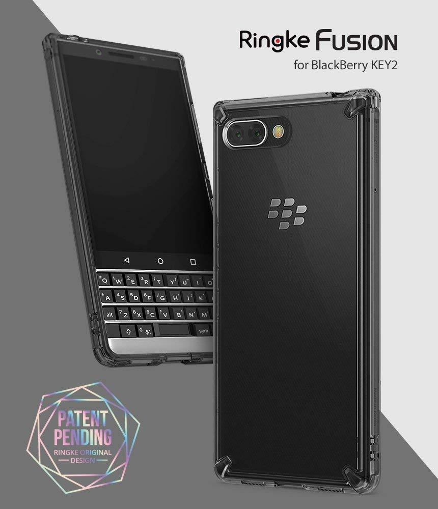 Blackberry Key2 Case Ringke Fusion Dual Slim Hard Clear Bumper Rearth Samsung Galaxy S6 Crystal View Protective Cover Ebay