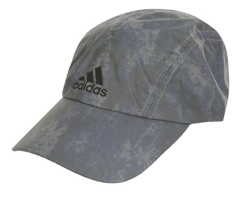 Details about Adidas Reflective Caps Running Hat Golf Adjustable Gray OSFM Hats  Cap CW0754 baecb6ce806