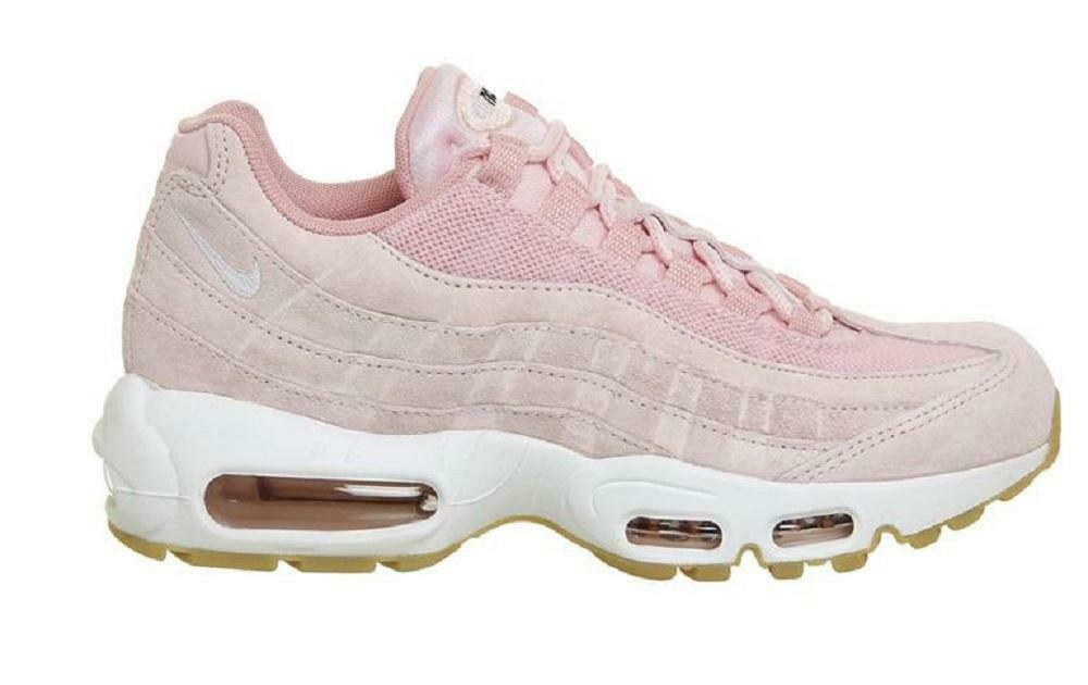 d244695987 Womens NIKE AIR MAX 95 SD Prism Pink Sheen Trainers 919924 600 | eBay