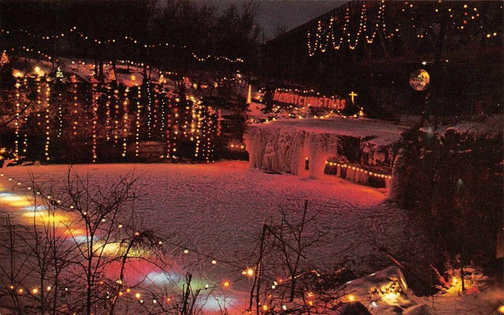 Details about LUDLOW FALLS, OH Ohio ANNUAL CHRISTMAS LIGHTING Holiday Lights  MIAMI CO Postcard - LUDLOW FALLS, OH Ohio ANNUAL CHRISTMAS LIGHTING Holiday Lights MIAMI
