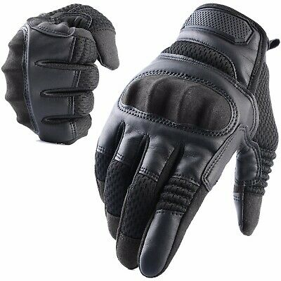 Touch Screen Motorcycle Full Finger Gloves Motorbike Cycling Driving Moto Biker