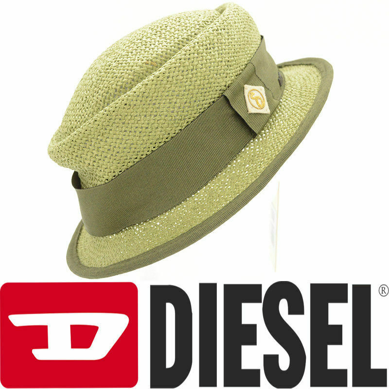 74e8e3ee2d7d43 Details about DIESEL CRIVELLI CAPPELLO 00S32X Womens Fedora Hat Ladies  Summer Trilby Hat
