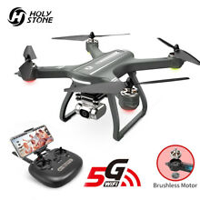 Holy Stone HS700 FPV GPS RC Drone w. HD FOV WIFI Camera Brushless Motor Pro BK