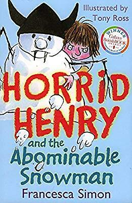Horrid Henry and the Abominable Snowman, simon, francesca, Used; Good Book