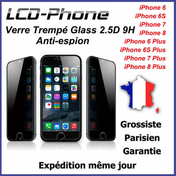 coque anti espion iphone 7 plus