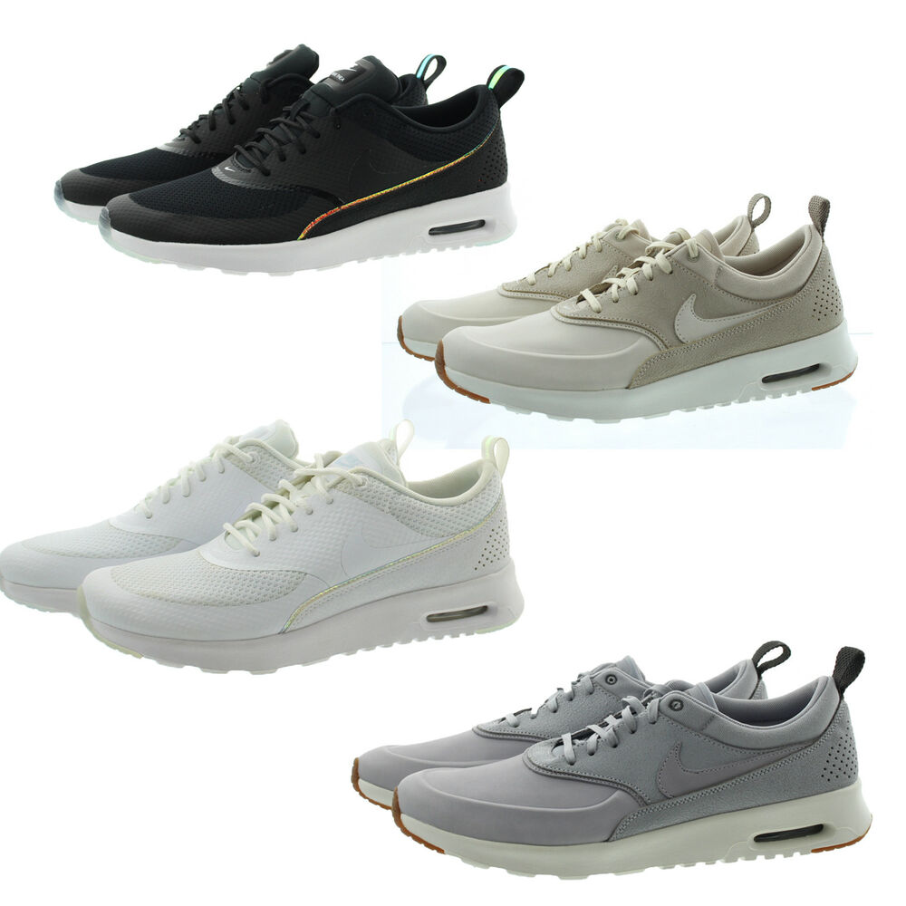 Details about Nike 616723 Women s Air Max Thea Premium Low Top Running  Shoes Sneakers 668646ff0f8a1