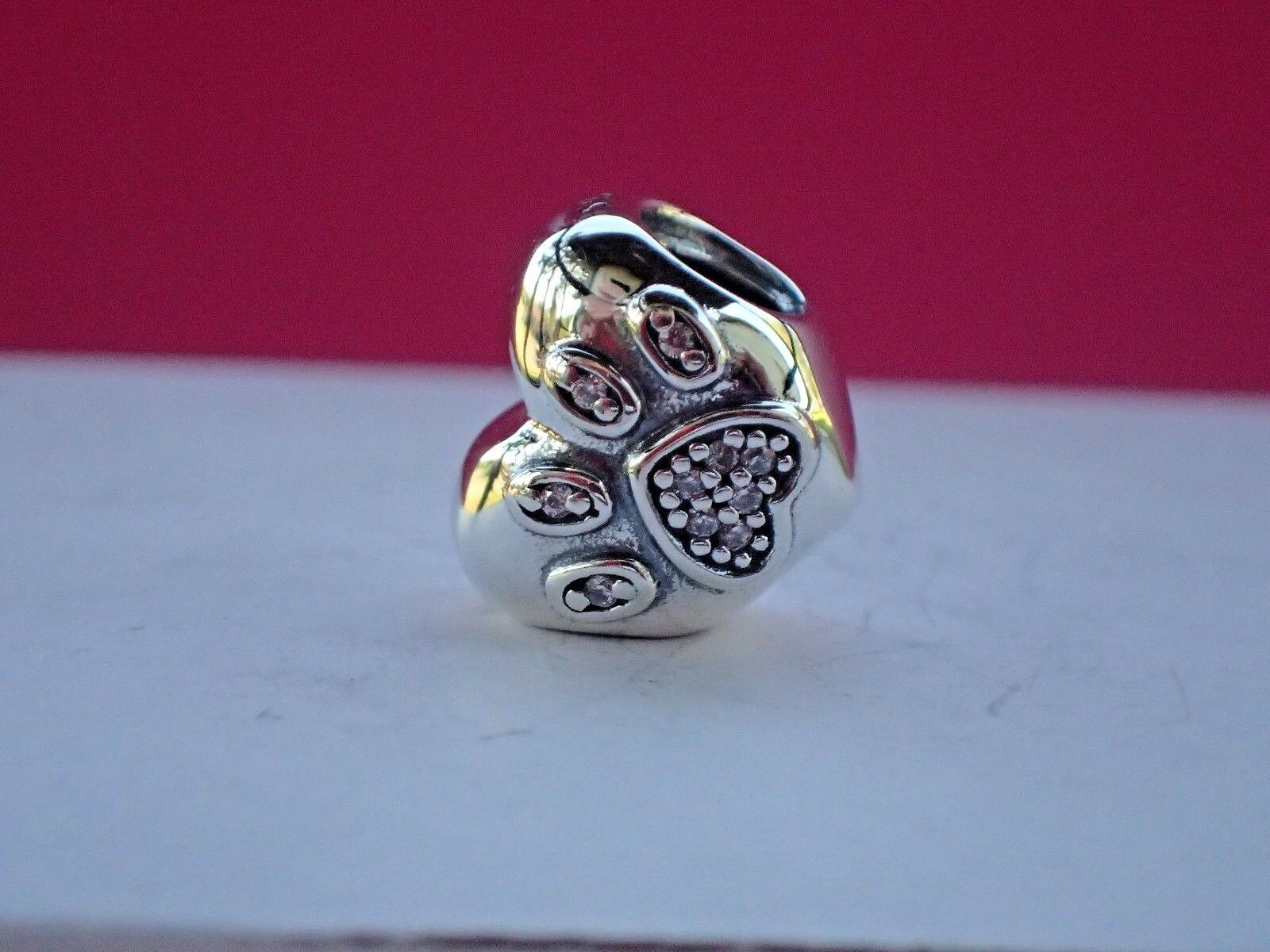 412a1b9d0 ... Paw EAN 5700302357851 product image for Authentic Pandora 791713cz I Love  My Pet Bead | upcitemdb.