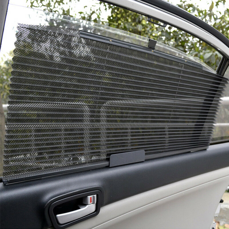 Details about Retractable Car SUV Curtain Front Windshield Visor Auto Shade  With UV Protection 0a1e6844ec3