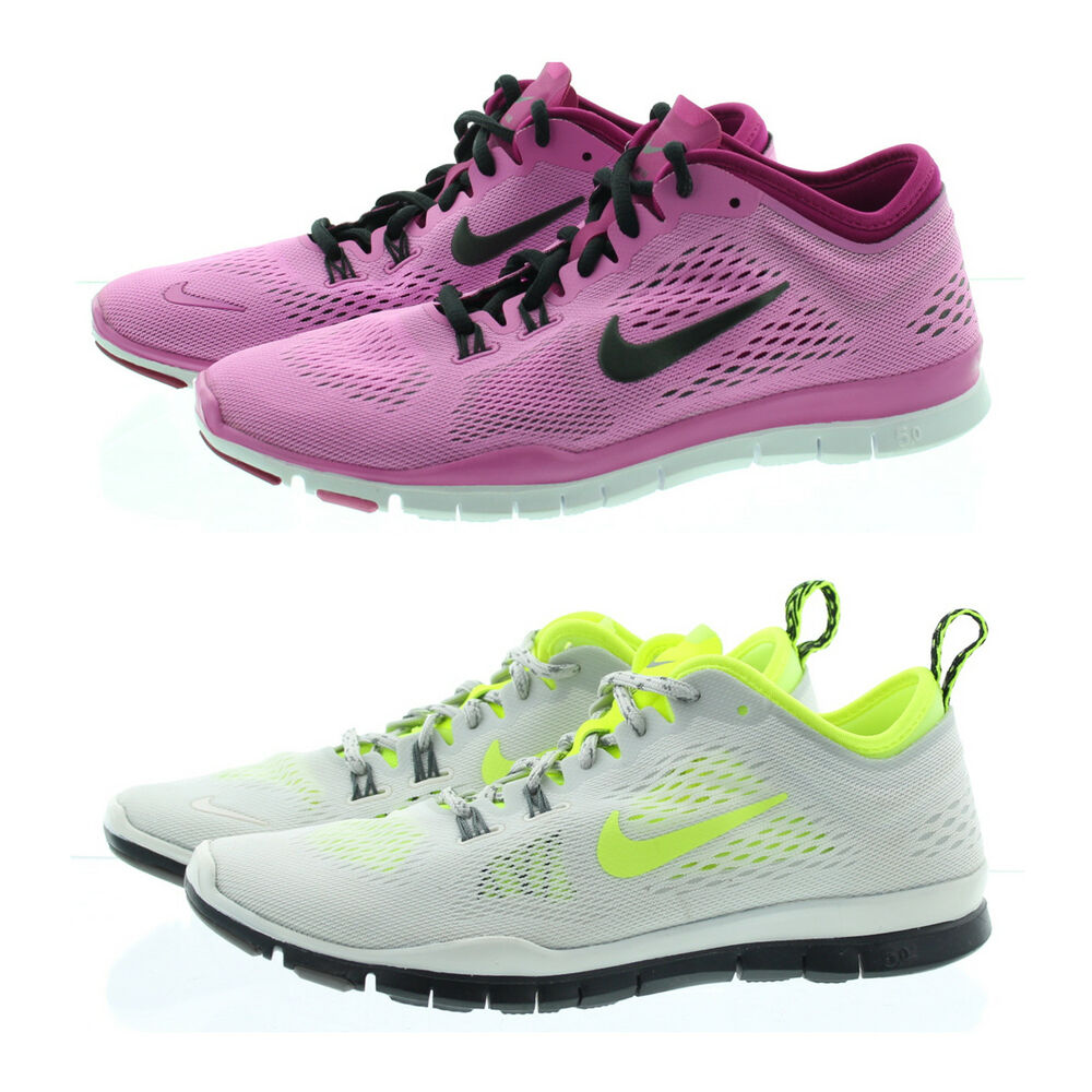 9f3489c27dd4 Details about Nike 629496 Womens Free 5.0 TR Fit 4 Low Top Running Training  Shoes Sneakers