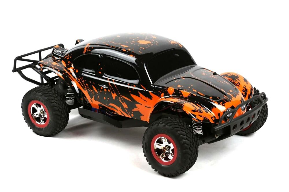Custom Body Muddy Bug Orange For Traxxas Slash 1/10 Truck
