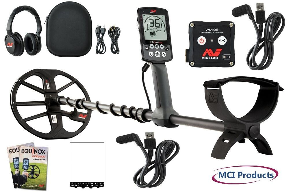 Minelab EQUINOX 800 Waterproof Metal Detector with 11