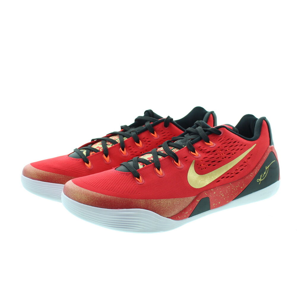 8f83d1dd27d4 Details about Nike 683251 Mens Kobe 9 IX China Pack Low Top Basketball  Running Shoes Sneakers