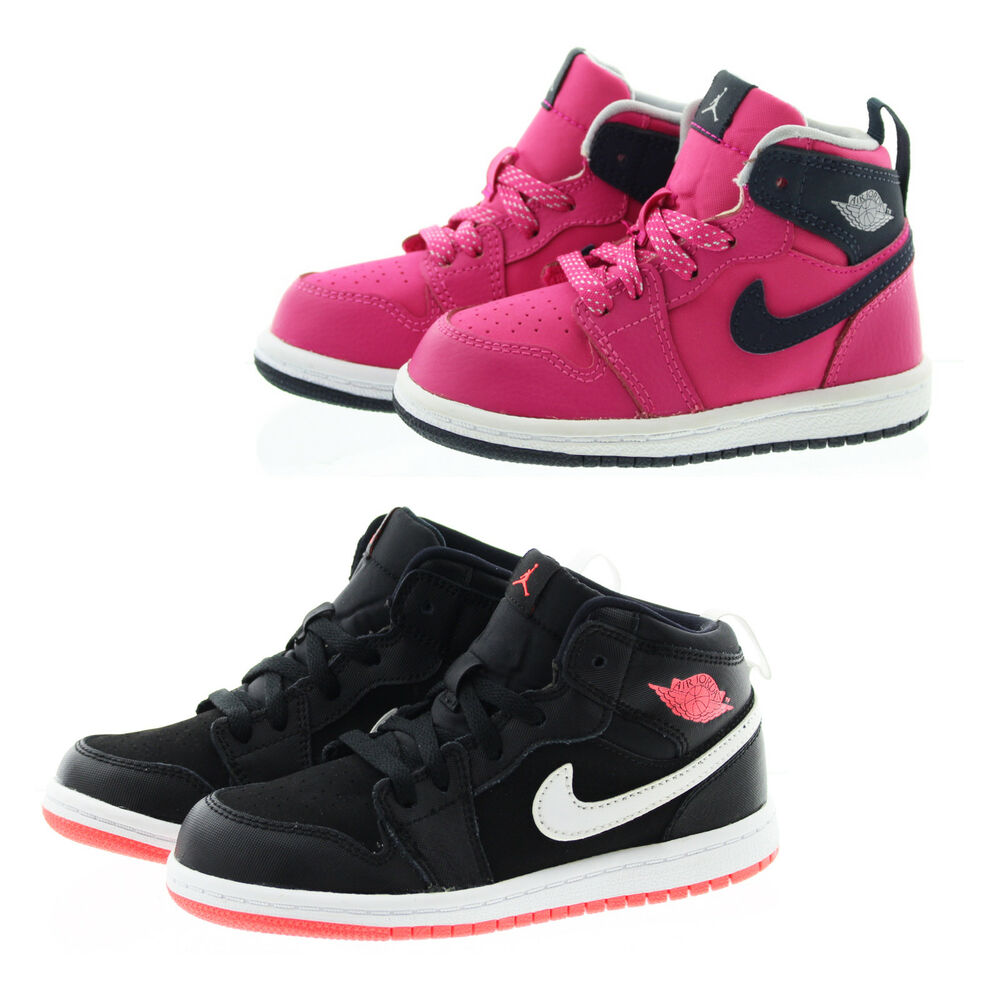 huge selection of 0ac1b b413a Details about Nike 705324 Toddler Child Air Jordan 1 Retro High GT Athletic  Basketball Shoes
